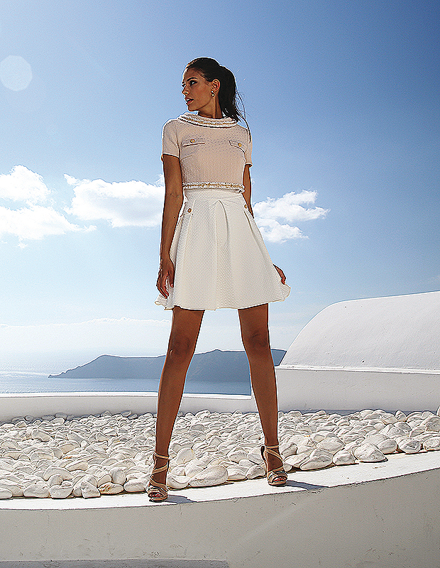 Robe cocktail linea raffaelli prix
