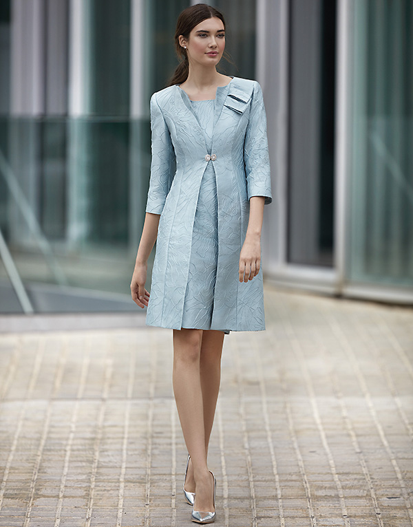 bc95dc25b3c Robe de cocktail – Carla Ruiz – 94842 Vue de face - collection 2018