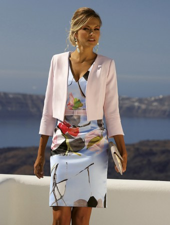 LR-SET 276 - Jacket 201-143-01 - Dress 201-142-023